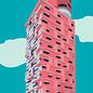 bv066 | bon voyage | Henninger Tower – Frankfurt/Main - postcard A6