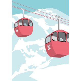 lu120   luminous   gondola - postcard A6