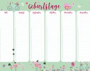 birthday calendar - m-illu