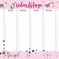 mi900 | m-illu | Flowers rose - Birthday Calendar A4