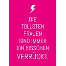 ws019 | Wortsinn | The Best Women ... - postcard A6