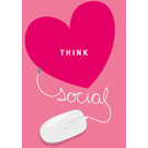 lc003 | lucky cards | think social - Postkarte
