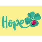 lucky cards lc010 | lucky cards |  Hope -  postcard