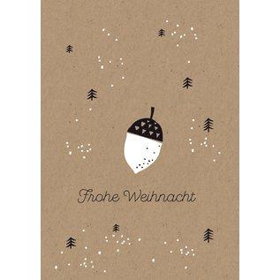 dfx002 | Designfräulein | White Nugget - Postkarte A6
