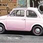 b070 | brocante | Fiat 500 - Postkarte A6
