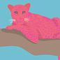 lu094 | luminous | Leopard - Postkarte A6