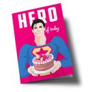 lucky cards lc500   lucky cards   Hero of the Day - folding card A5