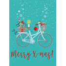 mix212 | m-illu | Fahrrad - Postkarte A6
