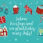 mix214   m-illu   Winter Feeling - postcard A6