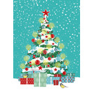 mix215 | m-illu | Weihnachtsbaum - Postkarte A6