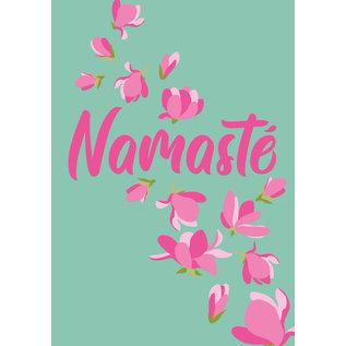 ha023 | happiness | Namasté - Postkarte A6
