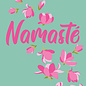 ha023 | happiness | Namasté - postcard A6