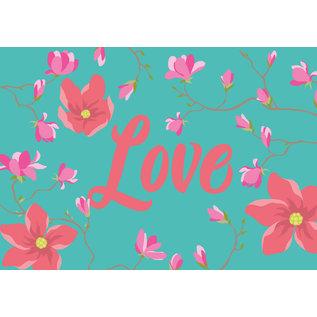 ha026 | happiness | Love - Postkarte A6