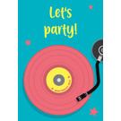 lu123 | luminous | Let's Party  - postcard A6
