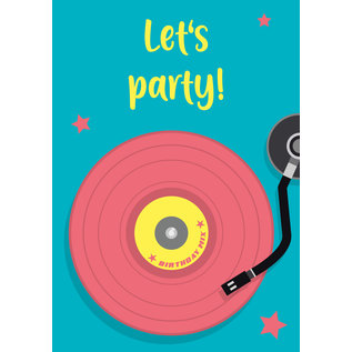 lu123 | luminous |  Let's Party - Postkarte A6