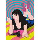 ng200 | pop art new generation | Mia Wallace - Postkarte A6