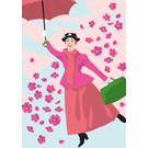 ng201 | pop art new generation | Magical Nanny - Postkarte