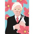ng202   pop art new generation   American Artist- postcard A6