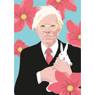 ng202 | pop art new generation | Andy Warhol - Postkarte A6