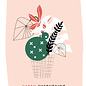 fzpa028 | Pastellica | Happy Everything - Postcard A6