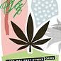 fzpa029 | Pastellica | Lass mal etwas Gras drüber rauchen - Postkarte A6