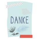 fzpa031 | Pastellica | Danke - Postkarte