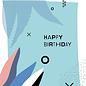 fzpa032 | Pastellica | Happy Birthday - Postkarte A6