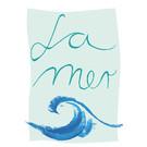 fzpa034 | Pastellica | La Mer - Postkarte