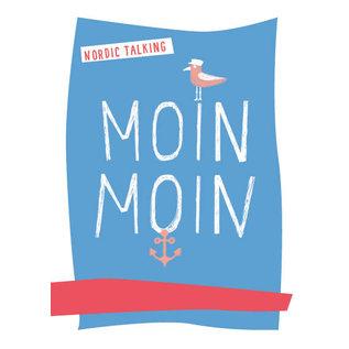 fzpa037 | Pastellica | Moin Moin - Postkarte A6