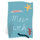fzpa038 | Pastellica | Meerweh - Postkarte