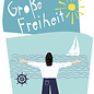 fzpa039 | Pastellica | Große Freiheit - Postcard A6