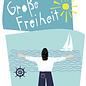 fzpa039 | Pastellica | Große Freiheit - Postkarte A6