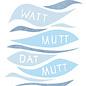 fzpa040 | Pastellica | Watt mutt, datt mutt - Postkarte A6