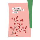 fzpa041 | Pastellica | Lasst uns froh... - Postkarte