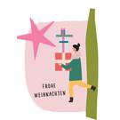 fzpa044 | Pastellica | Geschenkegirl - Postkarte