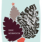 fzpa046 | Pastellica | Zapfen - Postkarte A6