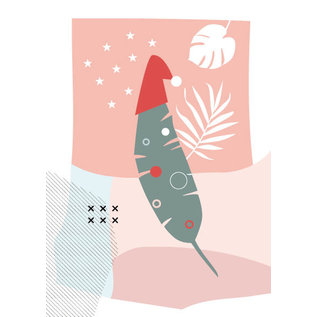 fzpa047 | Pastellica | Palmenblattmütze - Postkarte A6