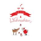tgx513 | Tabea Güttner | Frohe Weihnachten - postcard A6