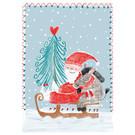 SG218 | schönegrüsse | Sledging with Santa Claus - postcard A6
