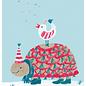sg222 | schönegrüsse | Schildkröte und Friends - Postkarte A6