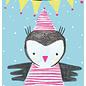 sg217 | schönegrüsse | Pinguin-Fest- Postkarte A6