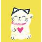 sg221 | schönegrüsse | Glückskatze - Postkarte A6