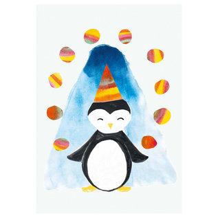 sg205 | schönegrüsse | Penguin- postcard A6