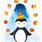sg205 | schönegrüsse | Pinguin- Postkarte A6