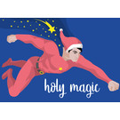lux034 | luminous | Holy magic - postcard A6