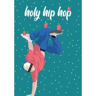 lux037 | luminous | Holy hip hop - postcard A6
