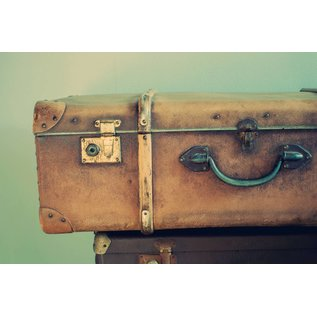 b034 | brocante | Suitcase - postcard A6