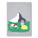 fzgc035 |  Gray-Code | Matterhorn - postcard