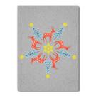 fzgc042 |  Gray-Code | Deer kaleidoscope - postcard