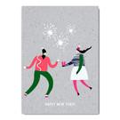 fzgc050 |  Gray-Code | Happy New Year - postcard